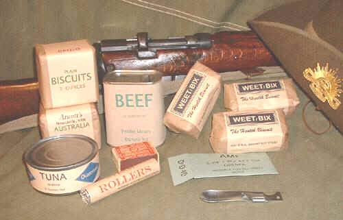 Ration Packs from WW2