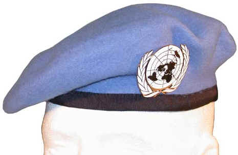 The UN has adopted baby blue as it s
